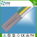 Cable que viaja aislado PVC ignífugo aprobado Ce del elevador flexible de H05vvh6-F