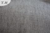 Tela de tapicería de lino del poliester después de cierto procesar