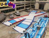 2016 Новейшая спортивная игра надувная гоночная трасса Zorb для соревнований