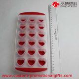 Bandeja 2016 plástica do cubo de gelo dos PP da forma do coração