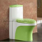 Einteilige Toiletten-Badezimmer-Farben-Toilette (A-035)