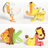 Puzzle animali svegli di figura