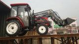 Ce/Cocの50HP 60HP 70HP 75HPの車輪の農業の耕作トラクター