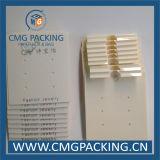 Cassa di visualizzazione stampata personalizzata dell'orecchino (CMG-031)