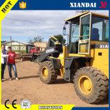 Maquinaria de construção Xd926g carregador da roda de 2 toneladas