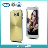 Caja de aluminio del teléfono celular del metal de la nueva manera para Samsung S6