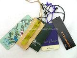 Mujer Accesorios de ropa etiqueta del equipaje de cartón etiquetas colgantes (PJI-466)