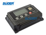 Suoer Solar Controller 12 / 24V Vermogen Controller 10A Solar Laadregelaar met 5V 1A USB uitgang voor Thuisgebruik Solar Controller (st-W1210)