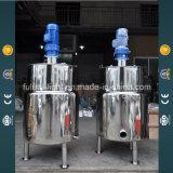 Detergentes líquidos del acero inoxidable que mezclan el tanque