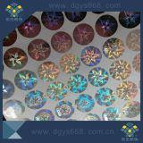 Farbenreicher Hologramm-Sicherheits-Aufkleber