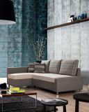 Einem doppelten Zweck dienendes Gewebe-Sofa stellte mit Speicherung ein (VV981)
