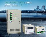 Régulateur de tension automatique de Digitals AVR monophasé de moteur servo de TND SVC