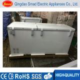 Sasoの証明書が付いている550L両開きドアの箱のフリーザーの冷凍庫