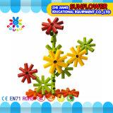Kind-Plastiktischplattenspielzeug-Stern-Bausteine