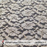 Tissu africain de lacet d'or à vendre (M3075-J)