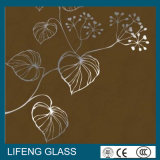 Home Appliance를 위한 명확한 낮은 E/Tempered/Toughened Float Silk Screen Printing Glass