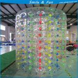 Tipo del rodillo de Zorb inflable con PVC0.8mm los 2.0*2.1*1.8m