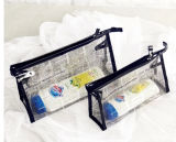 Sac imperméable à l'eau de PVC de beau plastique réglé de Tavel avec la tirette