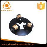 3개의 롤러를 가진 270mm 합금 다이아몬드 부시 망치 격판덮개