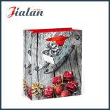 Nueva bolsa 2016 de papel del regalo del embalaje de la Navidad del estilo de la Diseñar-Madera