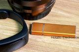 Plástico clássico & movimentação de alumínio do flash do USB (A308)
