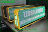 Afficheur LED de dessus de taxi de l'intense luminosité 3G de Ledsolution P5