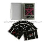 Cartão de jogo transparente do cartão do jogo do PVC, jogo de mesa