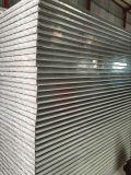 El panel de pared aislador termal de emparedado de PU/Rockwool/EPS para la casa prefabricada