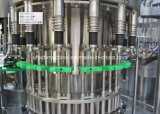 Planta de engarrafamento Lavar-Encher-Tampando da água do frasco automático do animal de estimação