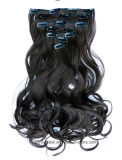 Скручиваемость способа естественные 7 штабелированная Non-Трассирует выдвижения волос