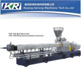 PE/PP/ABS/PC/Evacolor Masterbatchのための平行Co Rotating Twin Screw Extruder