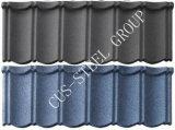 Tegel van het Dak van het Metaal van de kleur de Steen Met een laag bedekte/de Kleurrijke stenen-Met een laag bedekte Tegel van het Dak