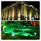 Des PFEILER LED Landschaftslicht-100W 85-265V im Freien beleuchtendes Stree Garten-Licht Lampen-des Flutlicht-100lm/W LED