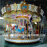 Carousel simples Amusement Machine Manufacturer em Guangzhou China