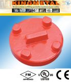 300psi Ductile Iron Fire Grooved Fittings Cap