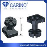 De Benen van keukenkasten, de Plastic Benen die van het Kabinet, de Toebehoren van de Hardware van het Meubilair Been (J982) aanpassen
