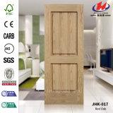 Solid Wood HDF / MDF EV Carrelage en chêne MDF Panneau de porte