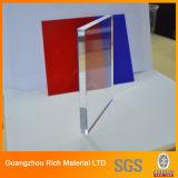 ясность 8mm бросила лист перспекса акрилового листа пластичный