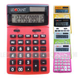12 Digits Dual Power Desktop Calculator mit Adjustable LCD Screen (LC227T-JP)