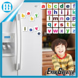 PVC inglese Fridge Magnet di 3D Number Alphabet Word