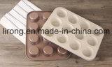 Vaschetta bianca Bakeware della focaccina del rivestimento di ceramica