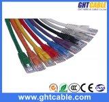 cuerda de remiendo de Al-Magnesio RJ45 UTP Cat5 de los 30m/cable del remiendo