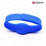Modifica senza contatto del cinturino del braccialetto del Wristband del silicone di controllo RFID di Acces