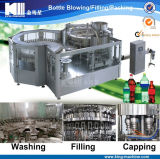 Machine de remplissage d'eau mousseuse en bouteille en plastique / machine à embouteiller