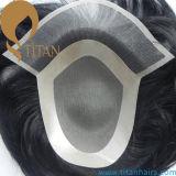 100%のよいバージンの人間の毛髪システム熱い販売の人のToupee