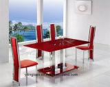 Glace de dessus de table basse frittée par configuration de couleur