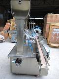 新しく正確なびん自動オイルの盛り土の充填機