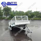 Heet-Ondergedompelde het nut galvaniseerde de Enige Aanhangwagen van de Asbus (swt-bt64-l)
