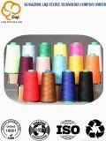 Filato di cucito filato poliestere tinto di colori 100%