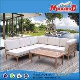 Jogos de venda do sofá do jardim do pátio da mobília do Teak da alta qualidade os melhores